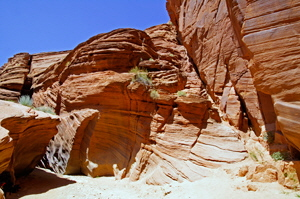 Buckskin Gulch - Middle Route Exit