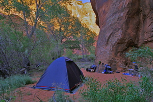 Paria Canyon - 2nd Campsite Near The Hole