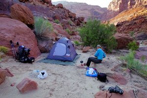 Paria Canyon - 3rd Campsite South Of FT Johnson Marker