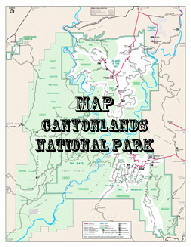 Map ++ Canyonlands National Park